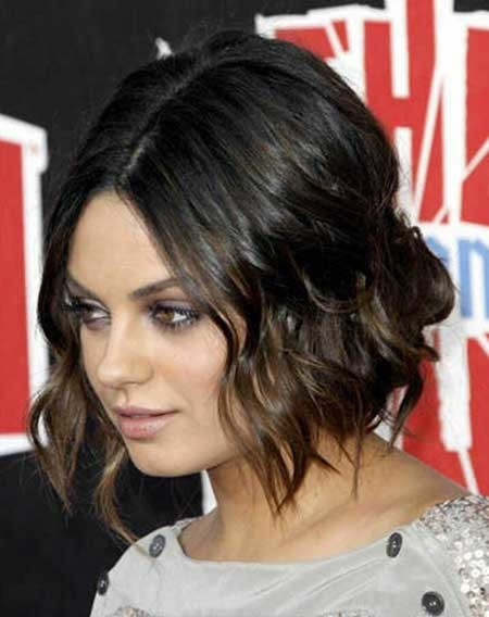 Cute-and-Simple-Wavy-Hairdo The Best Wavy Hairstyles for Short Hair