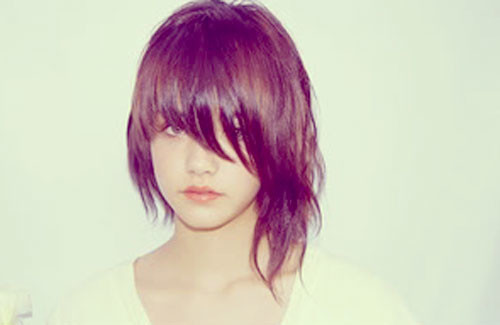 Cute-short-haircut-with-bangs Short and Cute Hairstyles for Women