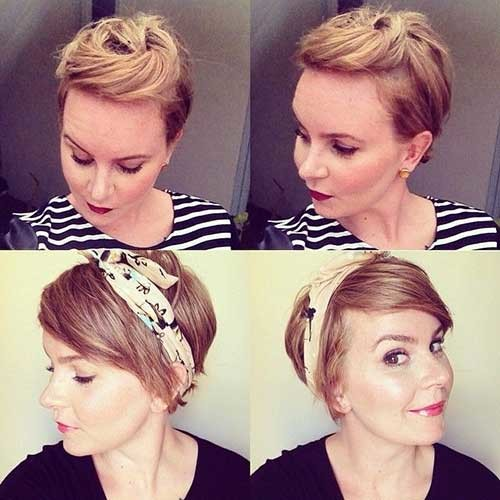 Cutest-Blonde-Long-Pixie-Style-for-Girls Long Pixie Haircuts
