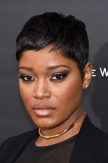 Extremely-Short-Flat-Hair Hairstyles for Black Women with Short Hair