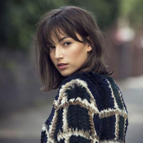 Fine-Straight-Short-Hair Cute Short Haircuts and Styles Women
