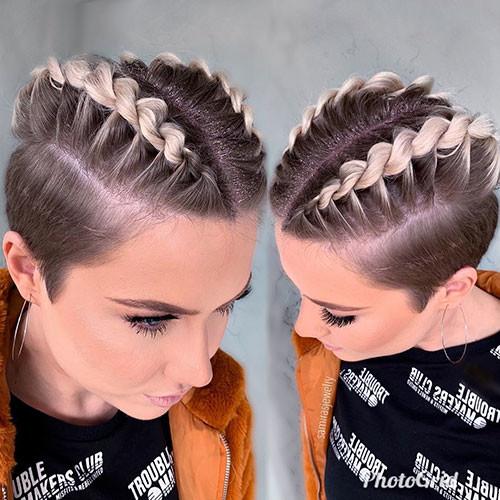 French-Braid-Short-Hair Best French Braid Short Hair Ideas 2019