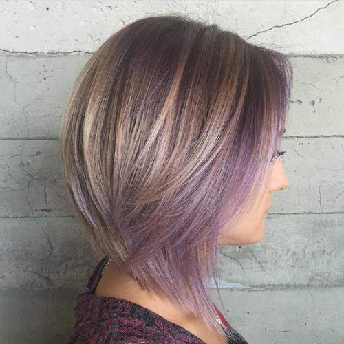 Fun-Highlights-for-Light-Brown-Hair Trendy Hair Colors for Short Hair for Ladies