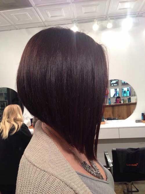 Inverted-Short-Bob Short Bob Hairstyles for Women