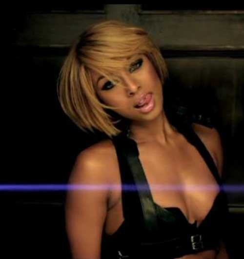 Keri-Hilson-Blonde-Chic-Short-Bob-Hair Keri Hilson Blonde Bob Hairstyles