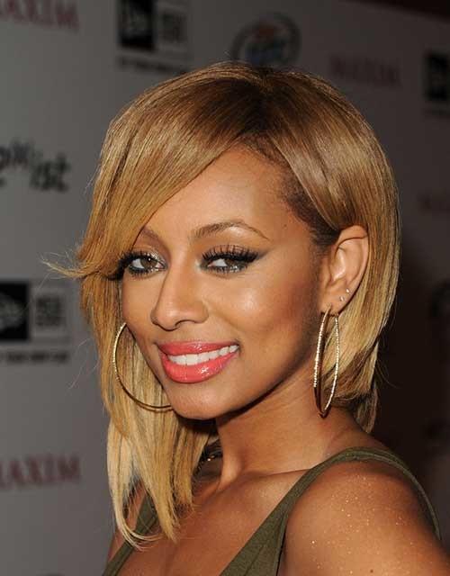 Keri-Hilson-Blonde-Inverted-Bob-Style Keri Hilson Blonde Bob Hairstyles