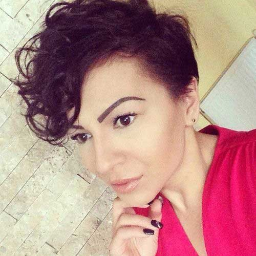 Latest-Curly-Short-Hairstyles-21 Latest Curly Short Hairstyles 2019