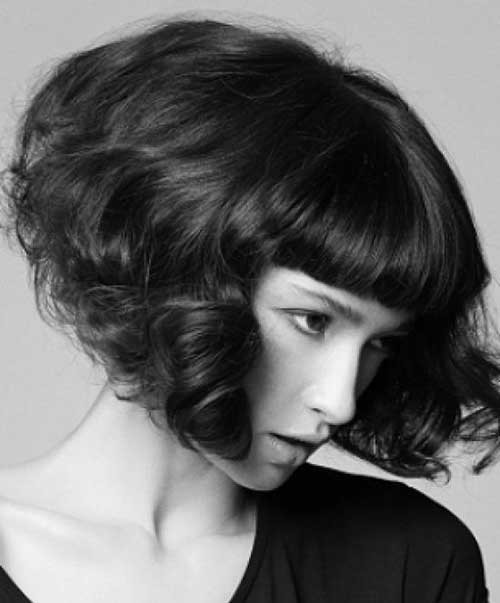 Latest-Curly-Short-Hairstyles-5 Latest Curly Short Hairstyles 2019