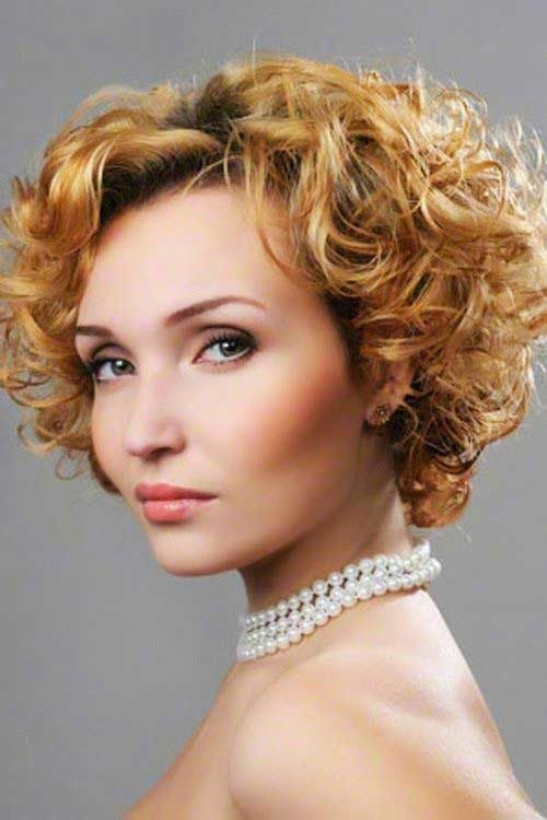 Latest-Curly-Short-Hairstyles-6 Latest Curly Short Hairstyles 2019