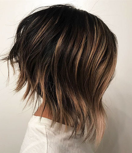 Layered-Bob-Hairstyle Latest Bob Haircut Ideas for 2019