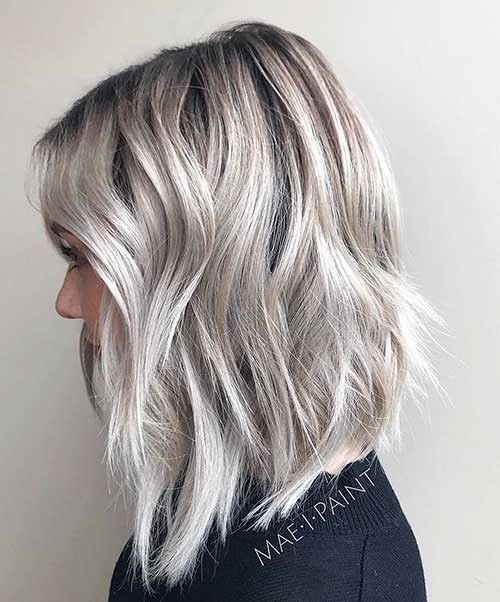 Layered-Platinum-Bob Cool Short Hairstyles You Can Rock This Summer