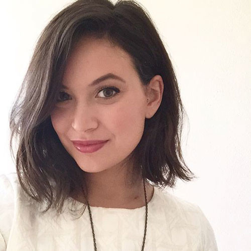 Long-Bob-3 Short Brown Hairstyles for Fashionable Women