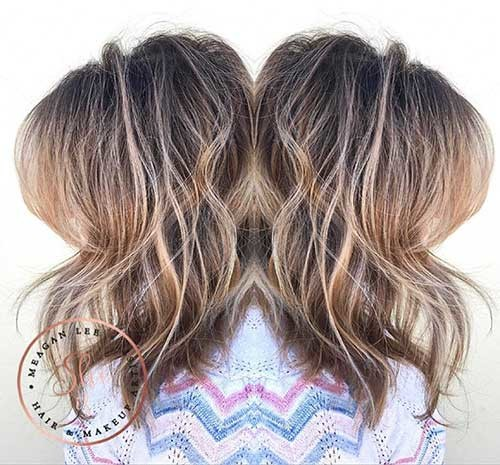 Long-Messy-Bob-Style Cool Short Hairstyles You Can Rock This Summer
