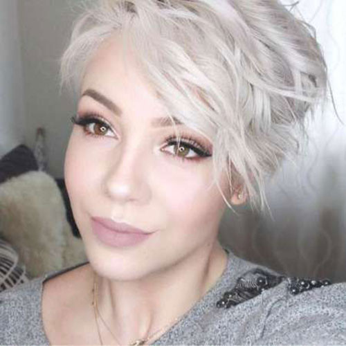 Long-Sexy-Pixie-Bangs Sweet and Sexy Pixie Hairstyles for Women
