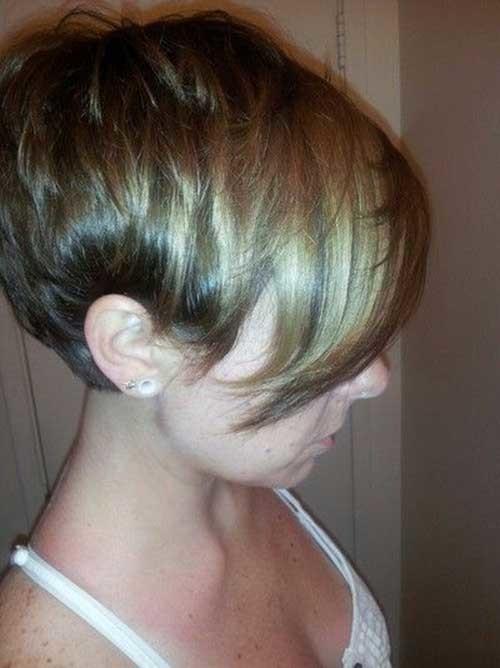 Longer-Pixie Short Haircut Pics for Straight Hair