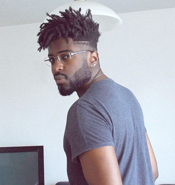 Mid-Fade-with-Medium-Length-Dreads Must-Try Hairstyles For Black Men