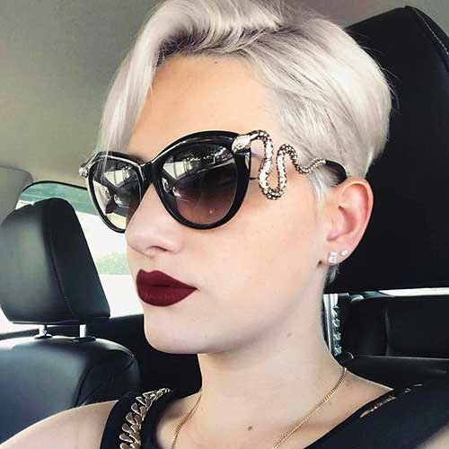 Modern-Pixie-1 Chic Short Hair Ideas with Bangs