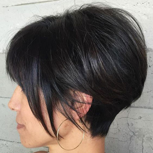 Modern-Pixie-Bob Elegant Short Haircuts for Thick Hair