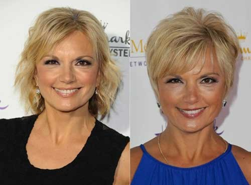 Nice-Short-Hairstyle-with-Bangs-for-Over-50 Short Hair Styles for Over 50