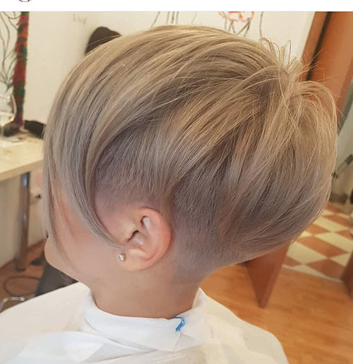 Pixie-Hair New Ash Blonde Short Hair Ideas