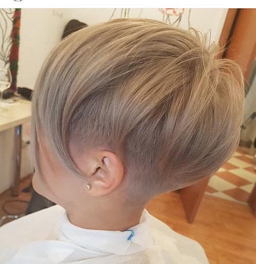 Pixie-Hair New Ash Blonde Short Hair Ideas