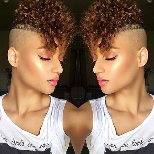 Pixie-with-Undercut-Style-1 Trending Style for Summer: Curly and Wavy Hairstyles