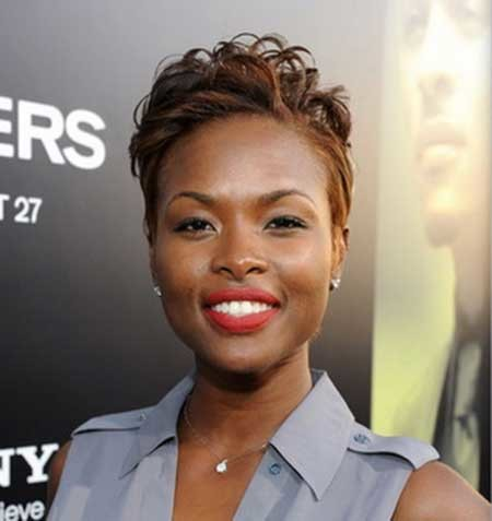 Pointy-Short-Nice-Hair Hairstyles for Black Women with Short Hair