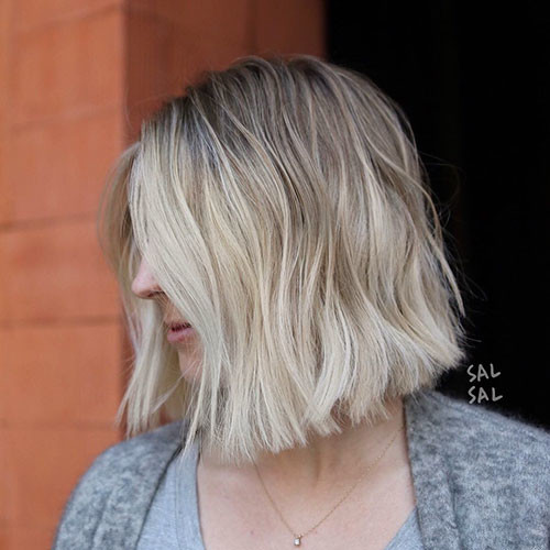 Pretty-Hair Beautiful Brown to Blonde Ombre Short Hair