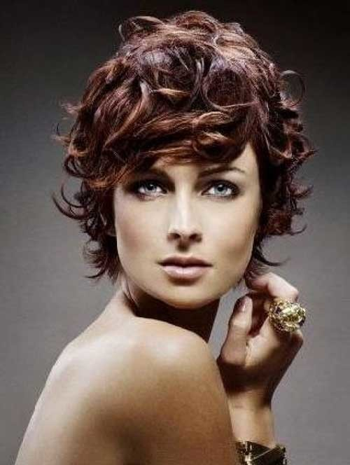 Pretty-Short-Easy-Curly-Hair Easy Hairstyles For Short Curly Hair