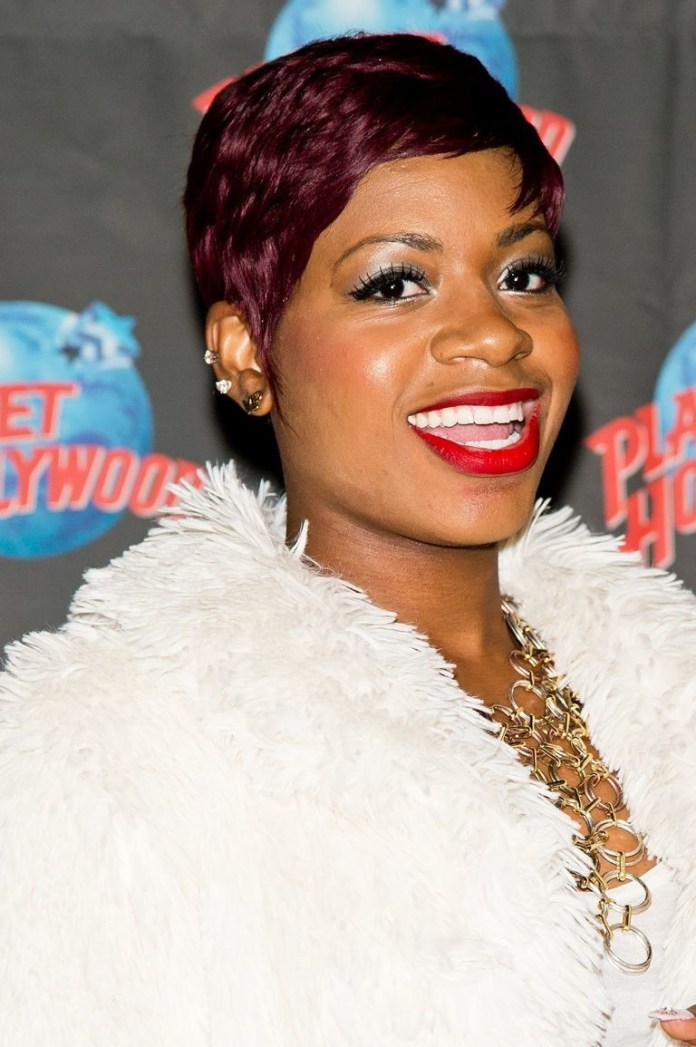 Raspberry-Red Best Short Hairstyles for Black Women