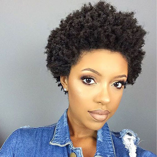 Short-Afro-Hair In Style Short Haircuts for Black Women