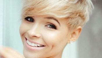 Short-Blonde-Pixie-Cut-for-Fine-Hair New Pixie Haircut Ideas in 2019