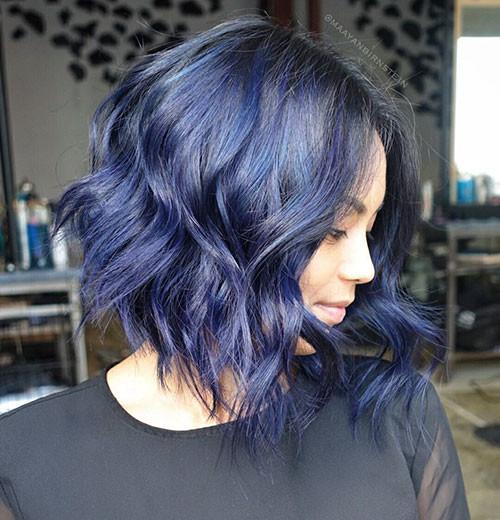 Short-Blue-Hair Popular Short Blue Hair Ideas in 2019