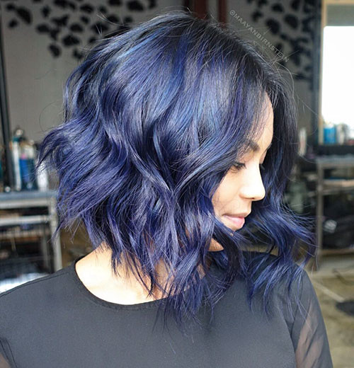 Short-Blue-Hair Popular Short Blue Hair Ideas in 2019