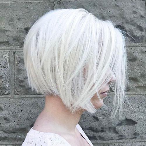 Short-Bob-Hair New Short White Hair Ideas 2019