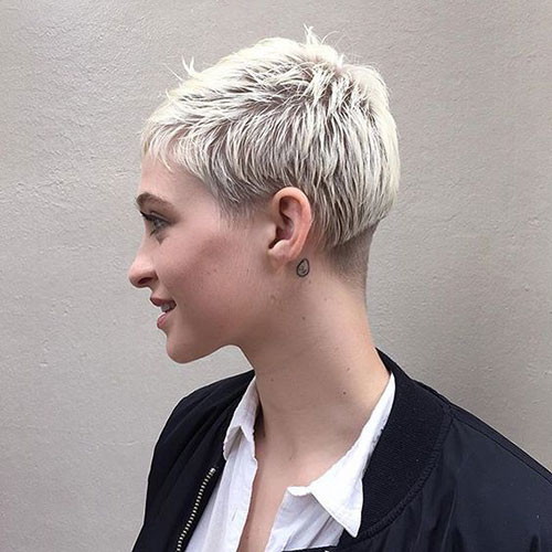 Short-Cropped Short Pixie Haircuts for Pretty Look