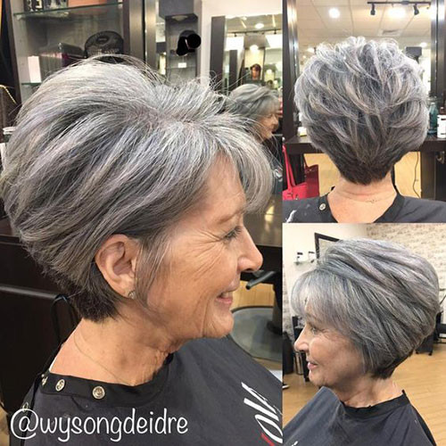 Short-Cut-for-Older-Women Best Short Haircuts for Women Over 50