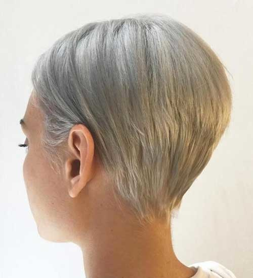 Short-Grey-Fine-Hair Short Hairstyle Options for Fine Haired Ladies