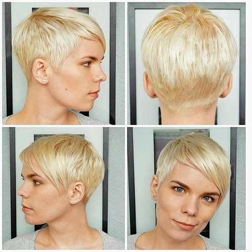 Short-Haircut-Idea Striking Short Hair Ideas for Blondies