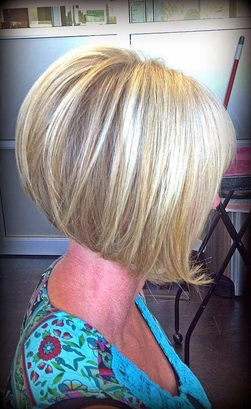 Short-Inverted-Bob-Stacked-Cut-Hair Short stacked haircut