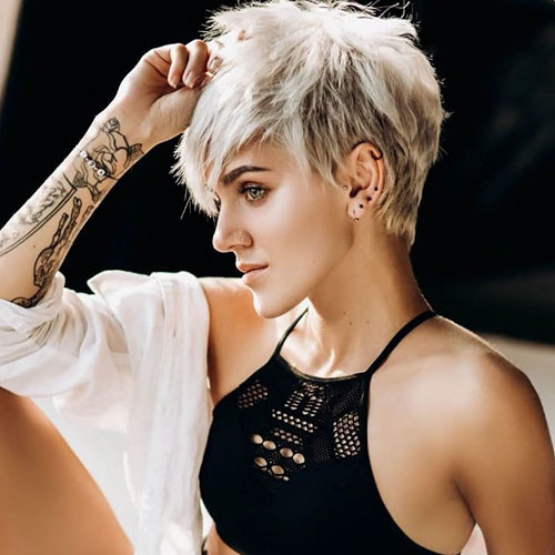 Short-Layered-Pixie-2 Best Short Layered Pixie Cut Ideas 2019