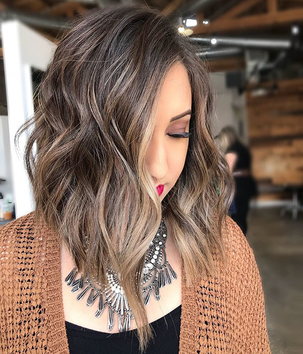 Short-Layered-Wavy-Hair New Short Wavy Hair Ideas in 2019