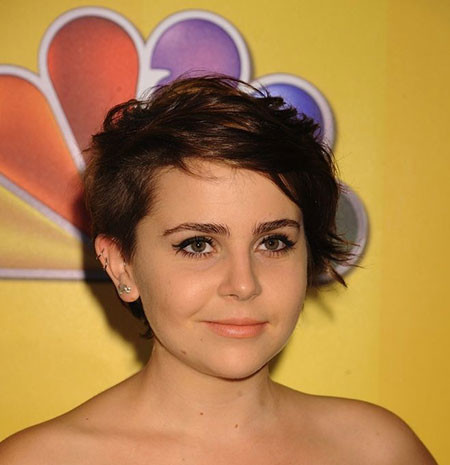 Short-Original-Curly-Pixie Best Celebrity Short Hairstyles