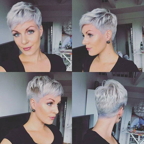 Short-Pixie-2019 Short Pixie Haircuts for Pretty Look