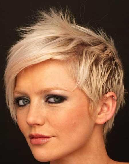Short-Rebellious-Blonde-Hairstyle-1 Short blonde hairstyles