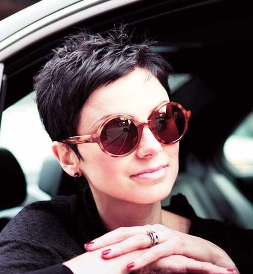 Short-Rebellious-Spiked-Hair Womens Short Hairstyles for Thin Hair