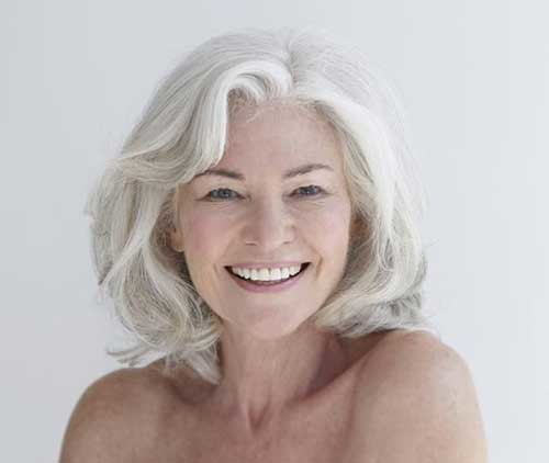 Short-Thick-Bob-Style-for-Over-50 Short Hair Styles for Over 50
