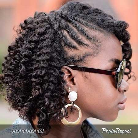Short-Thick-Tight-Curls Black Hair Short Cuts 2019
