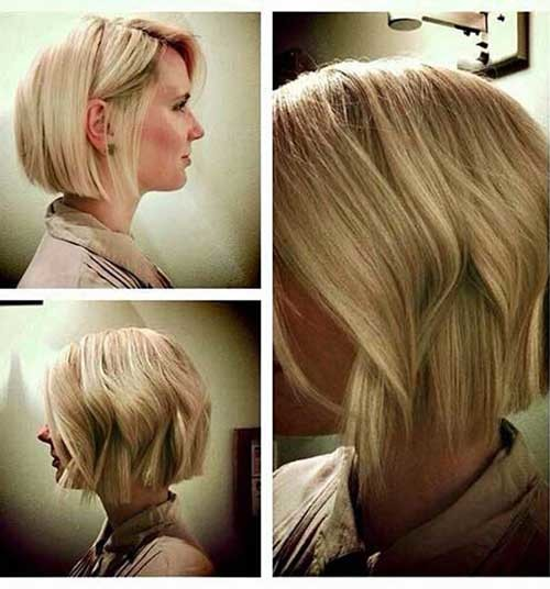 Short-Wavy-Bob-1 Eye-Catching Short Hairstyles in 2019 for Wavy Hair