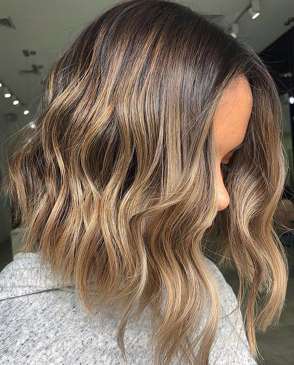 Short-Wavy-Bob-Hair New Short Wavy Hair Ideas in 2019